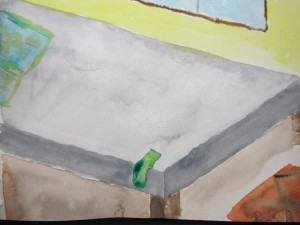 Bed Sock Painting