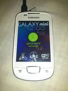 S5570 Galaxy Mini Custom ICS ROM