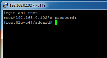 putty root